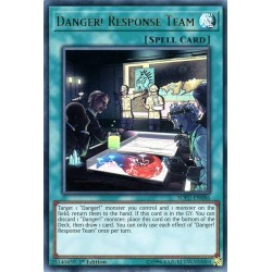 YGO SOFU-EN086 Danger! Response Team