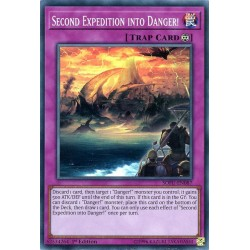 YGO SOFU-EN087 Seconde Expédition de Danger ! / Second Expedition into Danger!