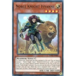 YGO SOFU-EN088 Iyvanne le Chevalier Noble / Noble Knight Iyvanne