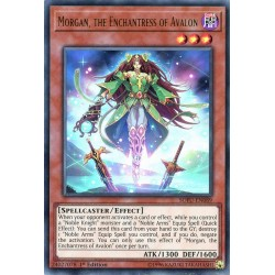 YGO SOFU-EN089 Morgan, the Enchantress of Avalon