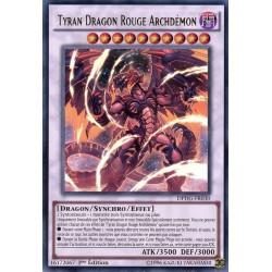 YGO DPDG-FR030 Tyrant Red Dragon Archfiend