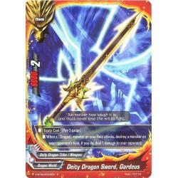BFE S-BT02/0023EN R Deity Dragon Sword, Gardeus
