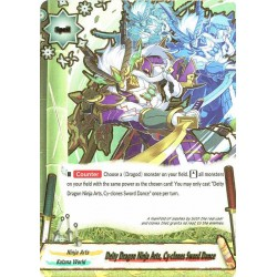 BFE S-BT02/0078EN Secret Deity Dragon Ninja Arts, Cy-clones Sword Dance