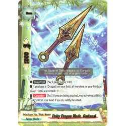 BFE S-BT02/0079EN Secret Deity Dragon Blade, Garkunai