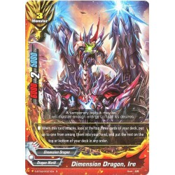 BFE S-BT02/0021EN FOIL/R Dimension Dragon, Ire