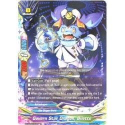 BFE S-BT02/0030EN FOIL/R Govern Star Dragon, Bilette