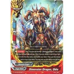 BFE S-BT02/0034EN FOIL/U Dimension Dragon, Odio