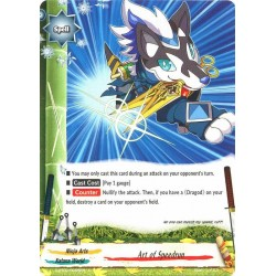 BFE S-BT02/0055EN FOIL/C Art of Speedrun