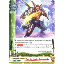 BFE S-BT02/0056EN FOIL/C Fusion Style, Steadfast Sequence the First