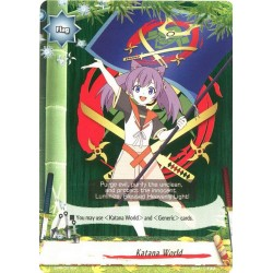 BFE S-BT02 S-PR/021EN PR Flag Katana World