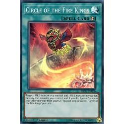 YGO HISU-EN056 Cercle des Rois du Feu / Circle of the Fire Kings