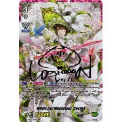 CFV V-EB03/UR03EN URR [Pink Signature - Yoshino Nanjou] White Lily Musketeer, Cecilia