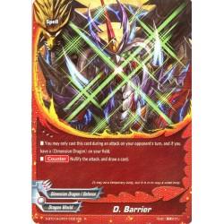 BFE S-BT01A-CP01/0021EN R D. Barrier