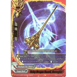 BFE S-BT01A-CP01/0045EN secret Deity Dragon Sword, Garrapier