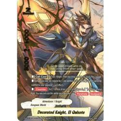 BFE S-BT01A-UB03/0058EN secret Decorated Knight, El Quixote