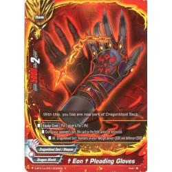 BFE S-BT01A-CP01/0023EN Foil/R †Eon† Pleading Gloves