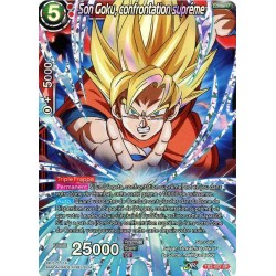 DBS TB2-002 SR Son Goku, confrontation suprême