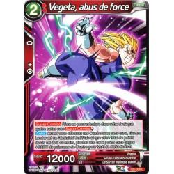 DBS TB2-006 C Vegeta, abus de force