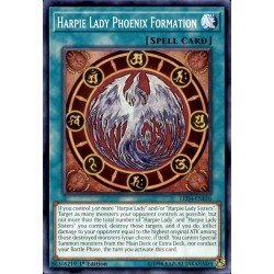 YGO LED4-EN010 Harpie Lady Phoenix Formation