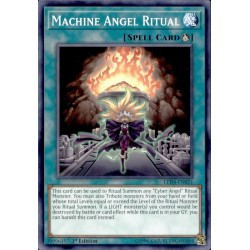 YGO LED4-EN021 Machine Angel Ritual