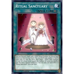 YGO LED4-EN022 Ritual Sanctuary