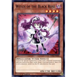 YGO LED4-EN030 Witch of the Black Rose