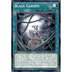 YGO LED4-EN032 Jardin Infernal / Black Garden