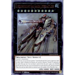 YGO LED4-EN034 Superdreadnought Rail Cannon Juggernaut Liebe