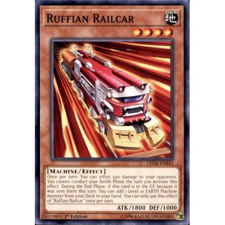 YGO LED4-EN042 Train Voyou / Ruffian Railcar