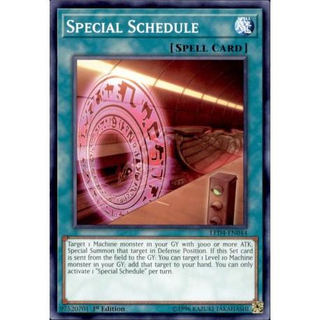YGO LED4-EN044 Programme Spécial / Special Schedule