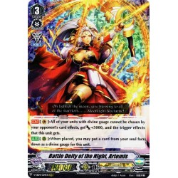 CFV V-EB04/004EN RRR Battle Deity of the Night, Artemis