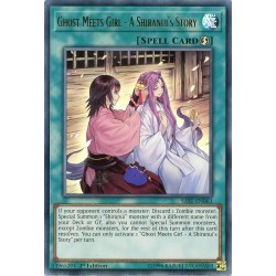 YGO SAST-EN063 Ghost Meets Girl - A Shiranui's Story