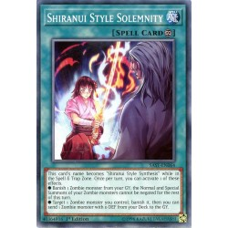 YGO SAST-EN064 Shiranui Style Solemnity