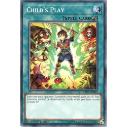 YGO SAST-EN069 Jeu d'Enfant / Child's Play