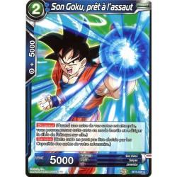DBS BT5-028 C Son Goku, prêt à l'assaut