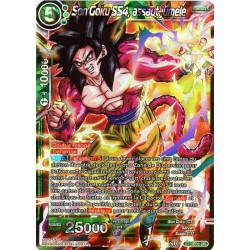 DBS BT5-055 SR Twin Onslaught SS4 Son Goku