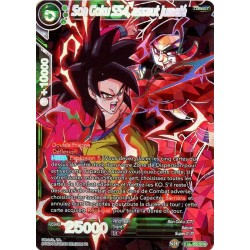 DBS BT5-055_SPR SPR Twin Onslaught SS4 Son Goku