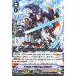 CFV V-BT03/006EN RRR Knight of Loyalty, Bedivere