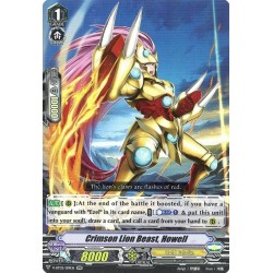 CFV V-BT03/019EN RR Crimson Lion Beast, Howell