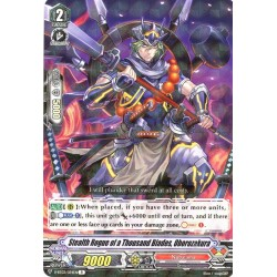 CFV V-BT03/034EN R Stealth Rogue of a Thousand Blades, Oborozakura