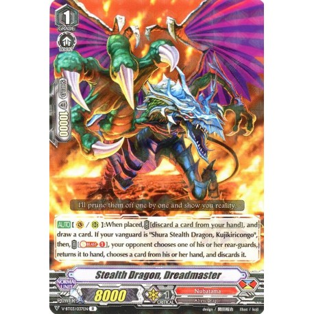 CFV V-BT03/037EN R Stealth Dragon, Dreadmaster