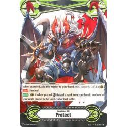 "CFV V-GM/0082EN Gift Marker ▽ Imaginary Gift Marker ""Protect"" Covert Demonic Dragon, Magatsu Storm"