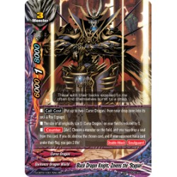 "BFE S-CBT01/0017EN RR Black Dragon Knight, Zevens the ""Stygian"""