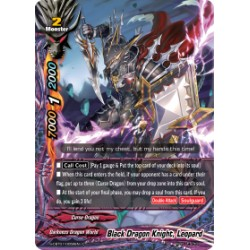 BFE S-CBT01/0058EN C Black Dragon Knight, Leopard