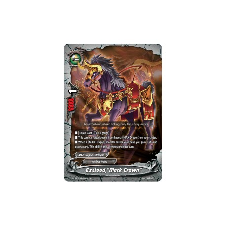 "BFE S-CBT02/0025EN FOIL/R Exsteed,""Black Crown"""