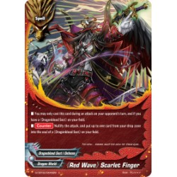 BFE S-CBT02/0043EN FOIL/C 《Red Wave》 Scarlet Finger