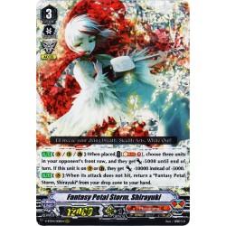 CFV V-BT04/008EN RRR Fantasy Petal Storm, Shirayuki