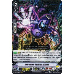 CFV V-BT04/010EN RRR Lie-down Deletor, Given