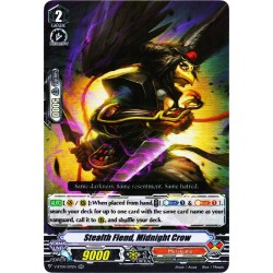 CFV V-BT04/017EN RR Stealth Fiend, Midnight Crow