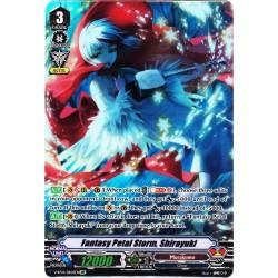 CFV V-BT04/DR03EN DR Fantasy Petal Storm, Shirayuki